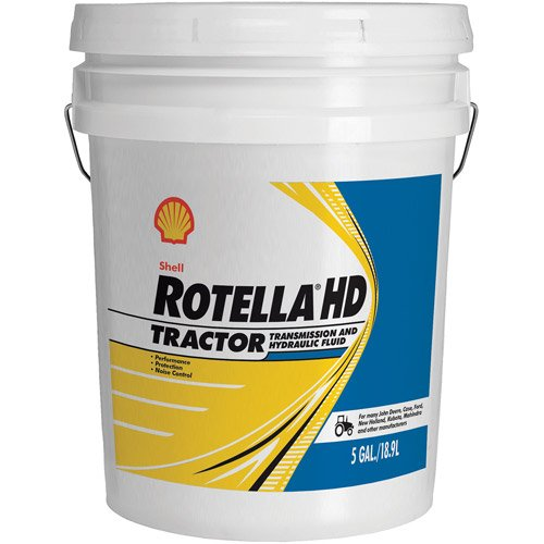 Shell Rotella (550039811) Heavy Duty Tractor Fluid - 5 Gallon Pail