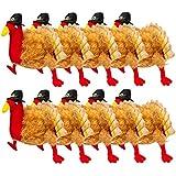 Simply Genius Plush Turkey Hats Thanksgiving Halloween Costume Holiday Trot Accessory