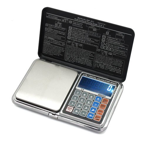6in1 0.1-1000g/500G/0.01G LCD Digital Pocket Jewelry Weight