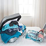 Packmate ® 2 Large Roll Up Travel Vacuum Space Saver Storage Bags For Holidays, Travelling, Large Suitcases & Rucksacks