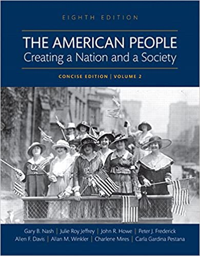 Amazon. Com: the american people: creating a nation and a society.