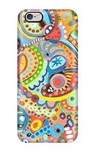 iPhone 6 Plus case, iPhone 6 Plus Case, - Pink and turquoise Stripe Anchor iPhone 6 Plus Case, iPhone 6 Plus Cover, iPhone 6 Plus Case, Cute iPhone 6 Plus Case