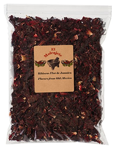 Hibiscus Flower dried Flor de Jamaica 8 oz From El - Flower Drink