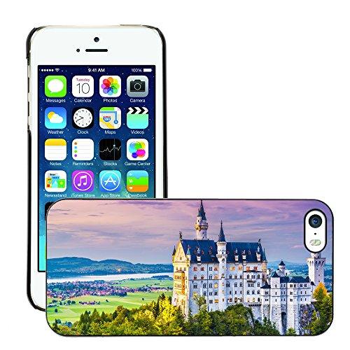 Hülle Case Schutzhülle Cover Premium Case // V00002613 Neuschwanstein // Apple iPhone 5 5S 5G