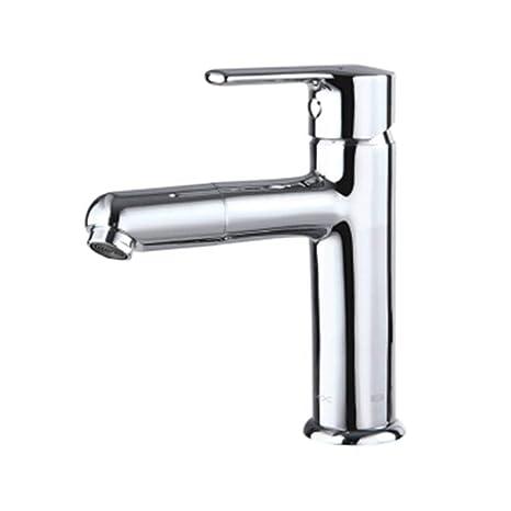 Amazon.com: HUIJUNWENTI Faucet, Basin Copper Faucet, Sink ...