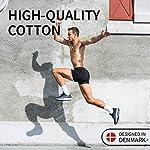 DANISH ENDURANCE 3 Boxers Homme en Coton Ultra Doux Oeko-TEX®, Coupe Classique, Maintien et Confort Supérieur, Caleçon 7