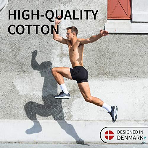 DANISH ENDURANCE 3 Boxers Homme en Coton Ultra Doux Oeko-TEX®, Coupe Classique, Maintien et Confort Supérieur, Caleçon 2