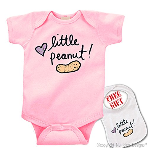Little Peanut Custom bodysuit matching