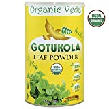 Organic Gotukola Powder – 1 Lb. ★ USDA Certified Organic ★ 100% Pure and Natural Super Food Supplement. Non GMO, Gluten FREE. All Natural! Review