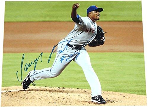 Jeurys Familia Signed 11x14 Photo New York Mets Autograph COA