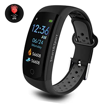 Fashion Style Q6s Smart Bracelet Blood Pressure Heart Rate Monitor Smart Wristband Smart Band Watch Bracelet Step Counter 2018 New Men's Watches Watches