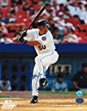 Benny Agbayani New York Mets Autographed 8x10 Photo -At Bat-