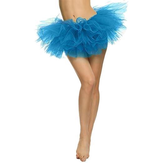 Ywlink Damen Hübsches Mädchen Tüll Kleid Crinoline Ballet Tanzkleid