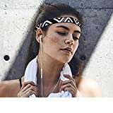 Feccile Breathable Running Cycling Yoga Dance Fitness Sports Antiperspirant Elastic Belt Outdoor Sports Women/Men