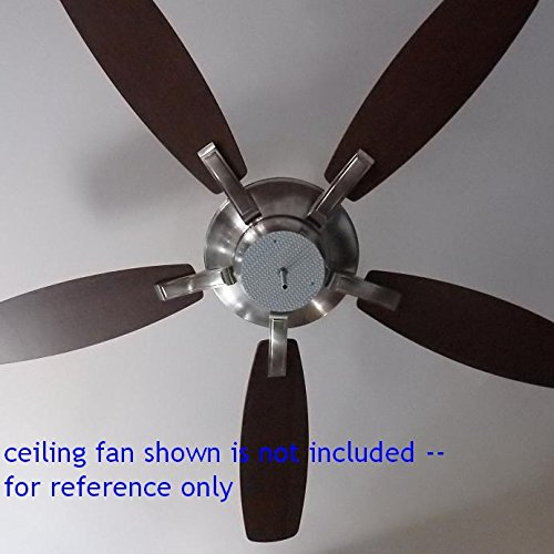 6 diameter extremely bright cool white 6000k led panel for Cool ceiling fans with lights