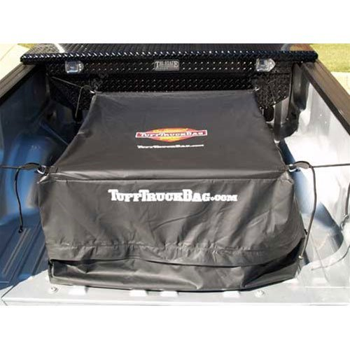 Tuff Truck Bag - Black Waterproof Truck Bed Cargo Carrier, 40'' x 50'' x 22'' ()