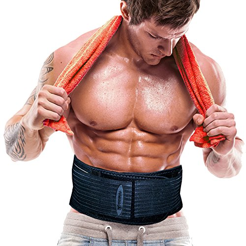 The Shred Belt - Waist Trimmer Belt, Belly Fat Burner, Weight Loss Belt, Spot Reduction Belt, Waist Slimmer, Waist Trainer, Shaper and Toner (XX-Large - 51in to 58in Waists (NOT PANTS SIZE))