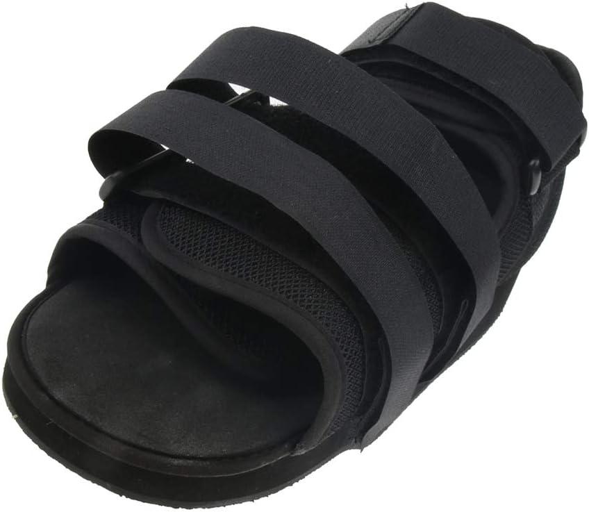 IPOTCH 1 unidad Zapatos con Tirantes Adjustable Suave Cómodo para Mujeres Hombres - Negro M