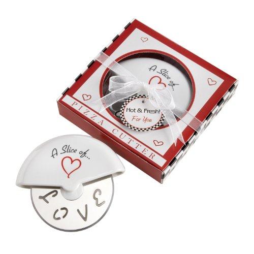 Italian Wedding Favor Boxes (Kate Aspen 13015NA Slice of Love Pizza Cutter)