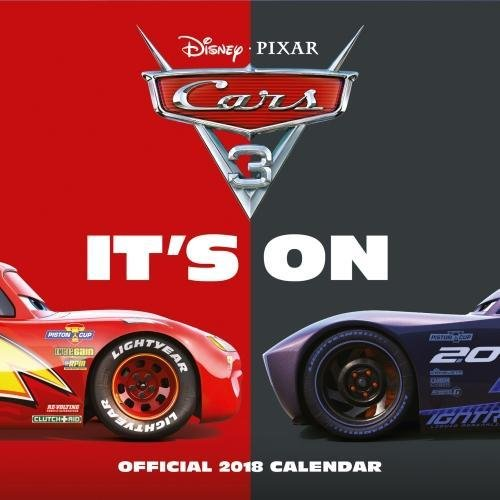 Cars 3 Official 2018 Calendar - Square Wall Format (Calendar 2018)