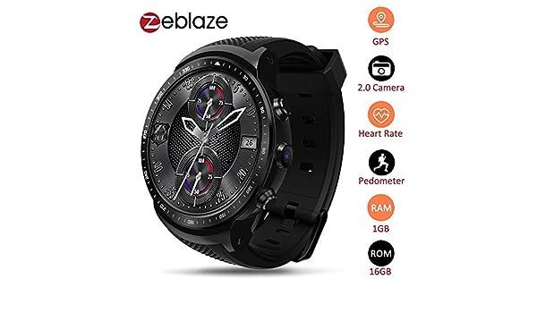 Zeblaze Thor PRO 3G GPS WiFi Smartwatch Android 5.1 MTK6580 ...