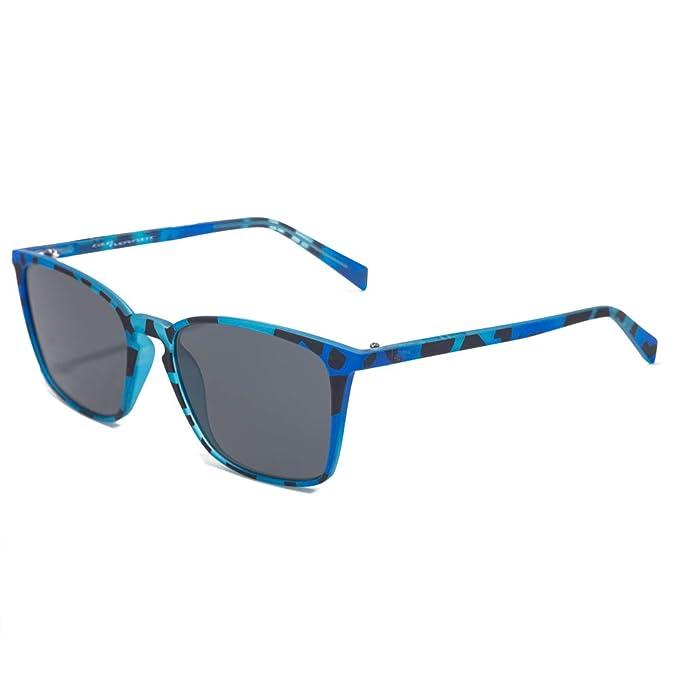 italia independent 0037-147-027 Gafas de sol, Azul, 52 ...