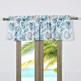 Barefoot Bungalow Cruz Coastal Window Valance For Sale
