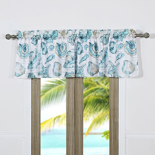 Barefoot Bungalow Cruz Coastal Window Valance