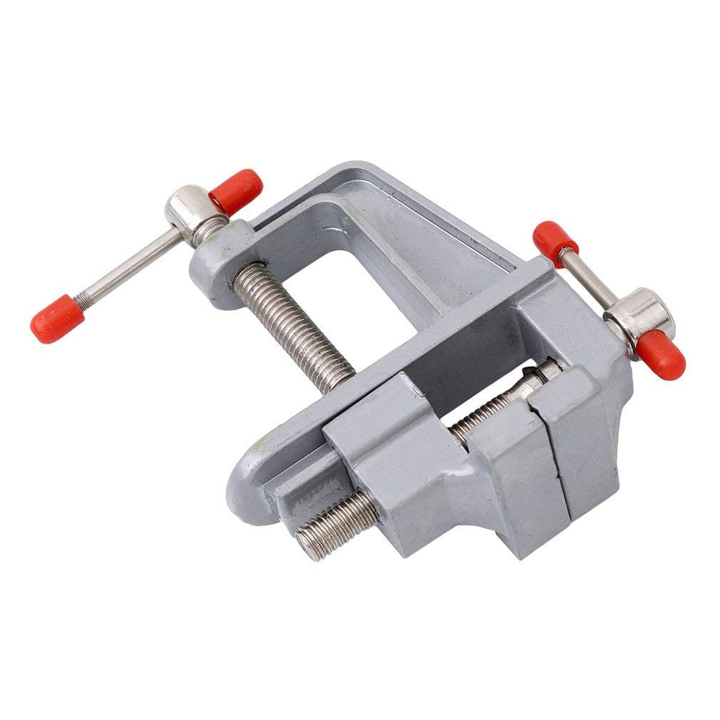 30MM Aluminum Vice Worktable Fixed Work Fine Work Easy take Durability Ogquaton High Quality Vise Hobby Vice Opening of Mouth