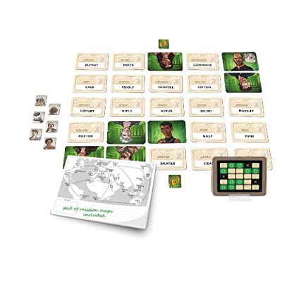 Czech Games Codenames: Duet - The Two Player Word Deduction Game: Toys & Games