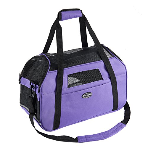 Pettom-Pet-Carrier-for-Dogs-Cats-Comfort-Airline-Approved-Travel-Tote-Soft-Sided-Bag-for-Pets-below-15-lbs-19-L-x-10-W-x-13-H