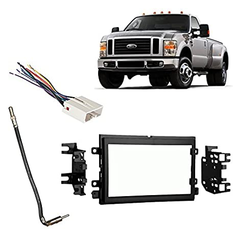 Amazon.com: Fits Ford F-250/350/450/550 2008-2010 Double DIN Harness on