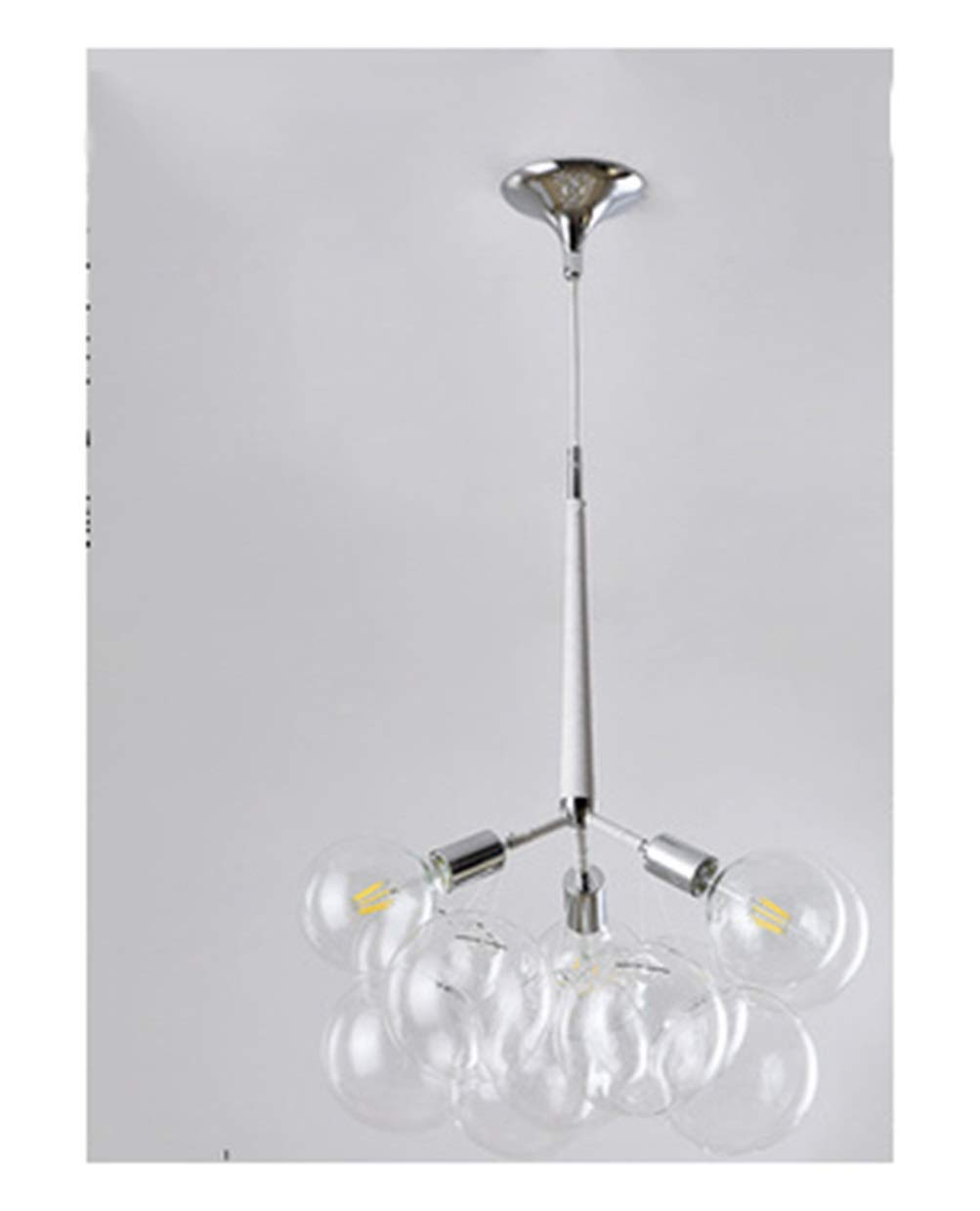 WPQW Sputnikシャンデリア - 北欧バブルボールシャンデリア寝室レストランのリビングルームクリエイティブパーソナリティガラスバブルライト -6552 シャンデリア   B07TXK1WYR