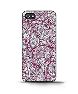 Apple Iphone 4/4s Case - Purple Paisley Pattern