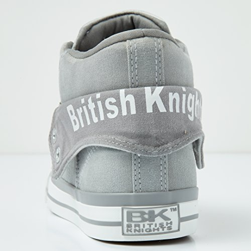 British Alte Grey Donne Sneakers Roco Knights Lt p0gtwrpq