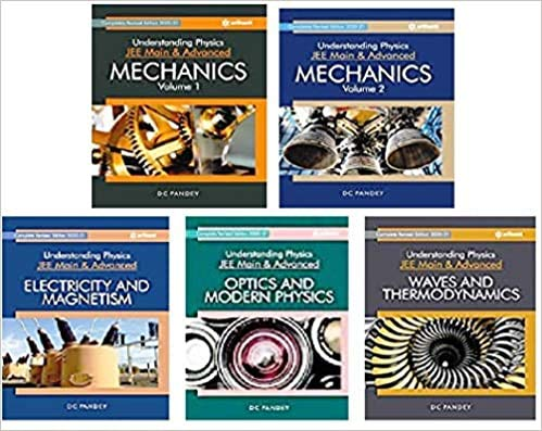 Understanding Physics Set Of 5 Books for JEE (Main & Advance )
