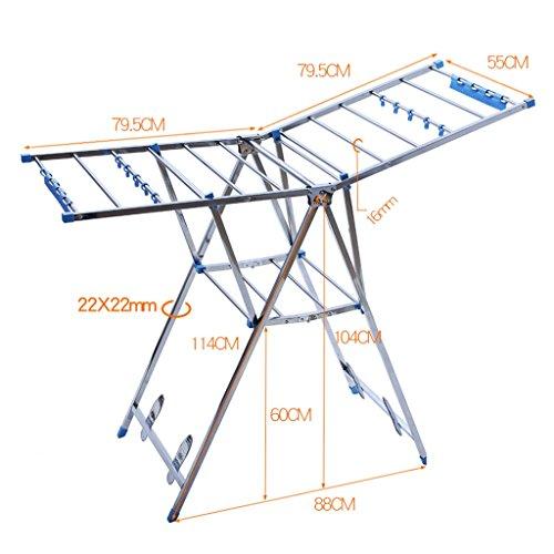 Simple Modern Drying Racks Stainless Steel Landing Foldable