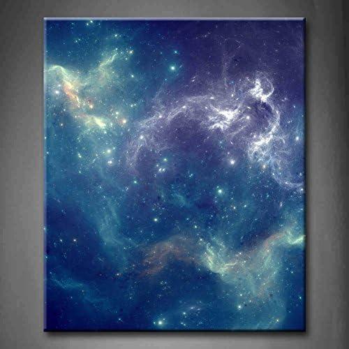 Fashion style abstrait Bleu Motif univers