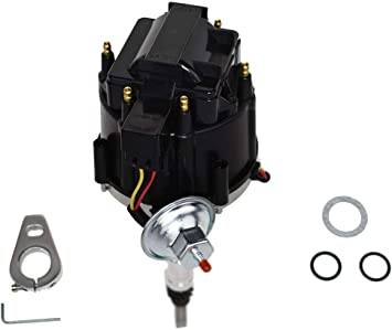 small cap CHEVY INLINE 6 Cylinder 194-216-235 Straight 6 BLACK HEI Distributor