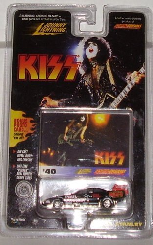Paul Stanley Johnny Lighting Diecast 1:64 Scale Car - Paul Lighting