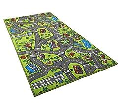 Kids Carpet Playmat Rug City Life Great ...