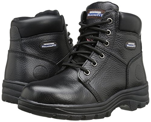 Boot Peril Black Skechers Lavoro 76561 Workshire IwHRF