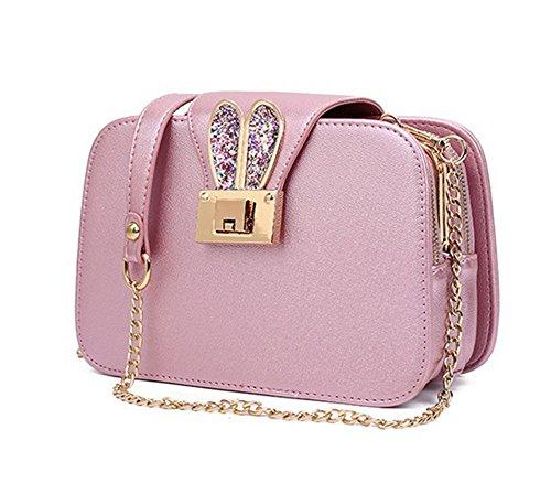 Blanco Blanco 1 mujer Pink HCXIN hombro Bolso al para wq4ZUY