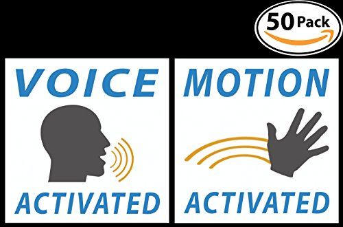 Prank Voice Activated Stickers and Motion Activated Stickers
