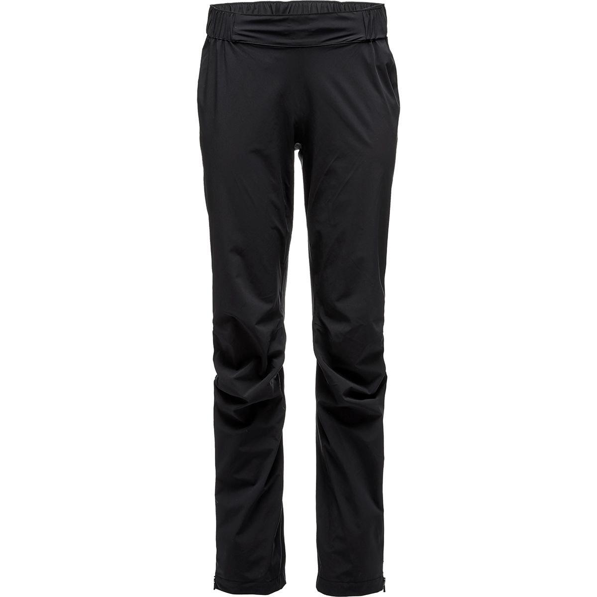 f1ab142b6fb Black Diamond Women s Stormline Stretch Rain Pants at Amazon Women s  Clothing store