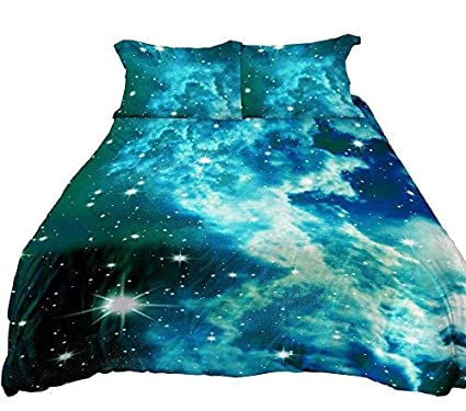 Anlye Galaxy Full Quilt Cover 3D Printing Galaxy Full Duvet Cover Galaxy  Never Fade Full Sheet