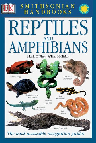 Smithsonian Handbooks: Reptiles and Amphibians - Book  of the Smithsonian Handbooks