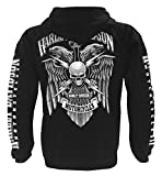 Harley-Davidson Men's Lightning Crest Full-Zippered