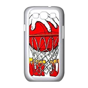 basketball is life Unique Design Cover Case with Hard Shell Protection for Samsung Galaxy S3 I9300 Case lxa#286828