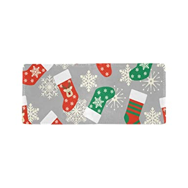Amazon.com: Happiness Navidad Eve rojo calcetines fresco ...